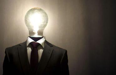 Lightbulb Headed Man