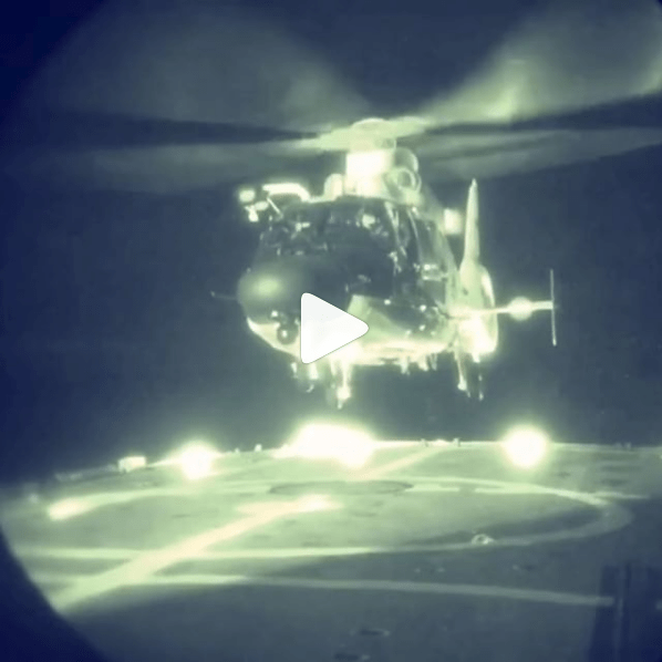 Coast Guard on Instagram - Night Helicopter Landing
