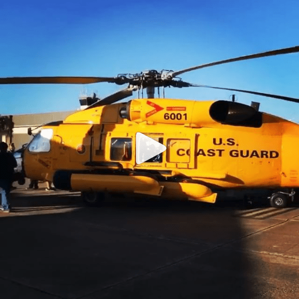 Coast Guard on Instagram - Helicopter Display