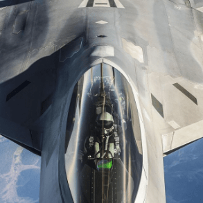 Air Force on Instagram - F22 Raptor In Air Fueling