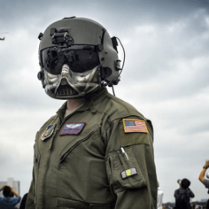 Air Force on Instagram - Star Wars Helmet - Impressive