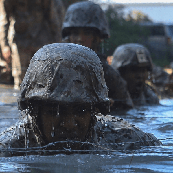 Marines on Instagram - Water Training