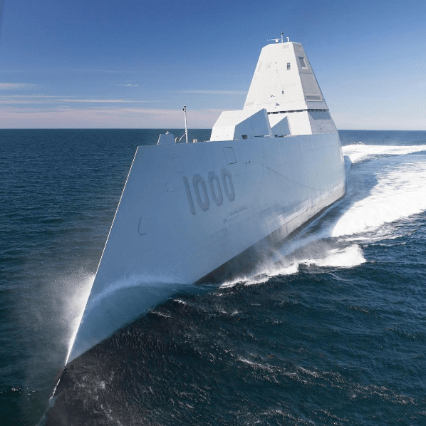 Navy on Instagram - USS Zumwalt